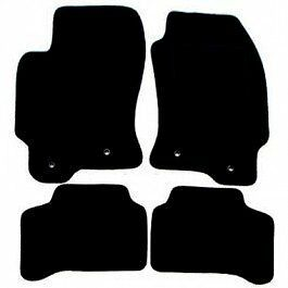 Jaguar X-Type Tailored Car Mats (01 on) - Black