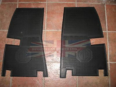 New Set of Amco Style Rubber Floor Mats MGA 1955-1962