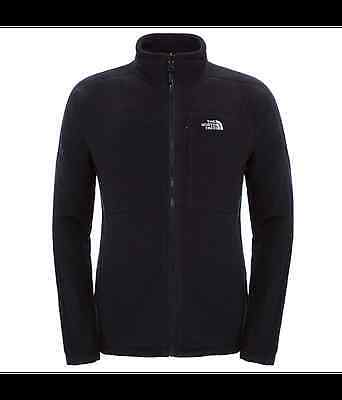 The North Face Men's 200 Shadow Full Zip Fleece Jacket (Black)