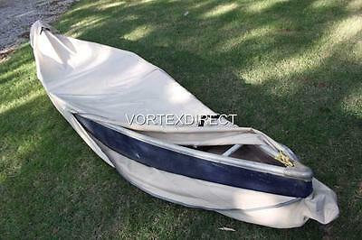 NEW VORTEX HEAVY DUTY KAYAK/CANOE COVER UP TO 16' TAN/BEIGE