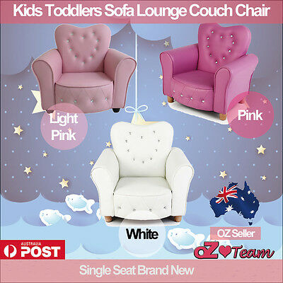 Kids Toddlers Sofa Lounge Couch Chair Single Seat Brand New
