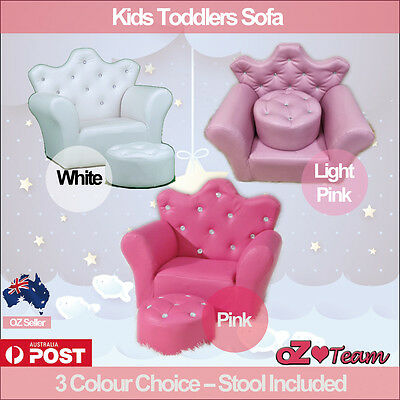 Kids Toddlers Sofa Lounge Couch Chair Single Seat