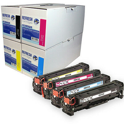 Remanufactured Hp 305X 305A / Ce410X Ce411A Ce412A Ce413A Laser Toner Cartridges