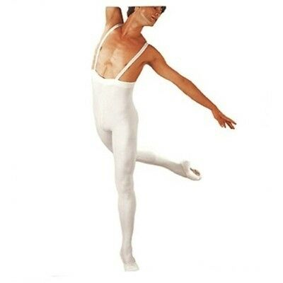 SANSHA D032C OLIVIER Professional FOOTED COTTON/LYCRA Tights with elastic straps
