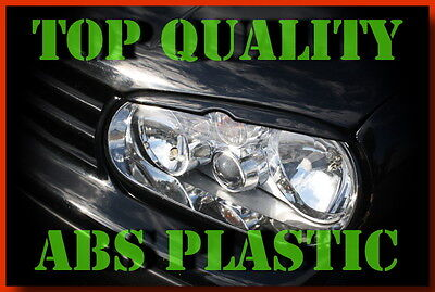 Volkswagen Golf 4 Iv Headlight Brows Eyelids Eyebrows Abs Plastic Trims Tuning