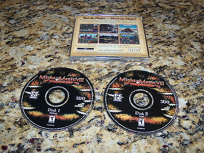 MIGHT AND MAGIC VIII 8 DAY OF THE DESTROYER PC WINDOWS COMPUTER ( EXC. COND )