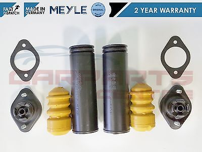 BMW E46 CONVERTIBLE REAR HEAVY DUTY STRUT MOUNT AND DUST COVER KIT MEYLE GERMANY