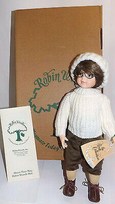 1988 ROBIN WOODS INC. 'MAC' COLLECTABLE DOLL PLAYMATE TODAY TREASURE TOMORROW