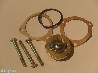 Land Rover Series 2a 3, Thermostat 4 cyl 2.25 L, 82 C Degrees, + Gaskets, 596225