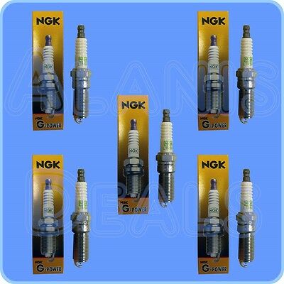 Genuine NGK LTR5GP G-Power Platinum Alloy Spark Plug 5019 Set (5) Made in Japan