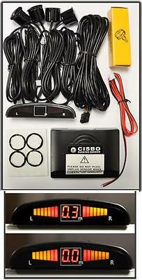 CISBO Reversing parking sensor System with Four Sensors and LED display