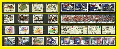 1988 All Commemorative Issues of Great Britain each Sold Separately Mint nh