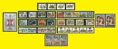 1986 All Commemorative Issues of Great Britain each Sold Separately Mint nh