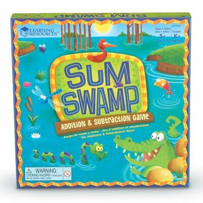 Sum Swamp Addition and Subtraction Maths Game - Children's Adding Board Game