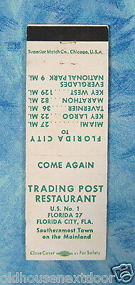 Trading Post Restaurant, Florida City, Florida, (VM-23)