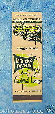 Moock's Tavern & Cocktail Lounge, St. Petersburgh Florida, (VM-27)