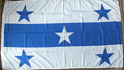 Gambier Islands 5x3 Flag Pacific French Tourism Hotels Wildlife Polynesia bnip