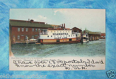 1907 Hiawatha Ship, Palatka Florida,  PC-5