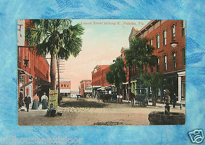 Lemon Street, Palatka Florida,  PC-6
