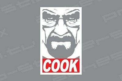 Breaking Bad Cook Vinyl Decal Sticker