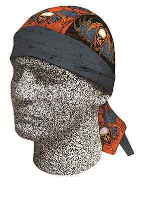 Old Warrior Skull Headwrap Durag Sweatband Bandanna Capsmith Free Shipping