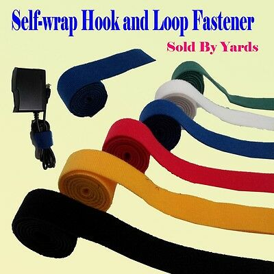 Self Wrap Fastener Double Side Hook and Loop Cable Wire Tie Straps Reuse Reclose