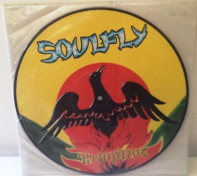# Soulfly  SEPULTURA PRIMITIVE USA '00 Ltd. Edition Picture Disc (M-) LP-M00274