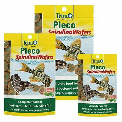 Tetra Pleco Algae Multi Wafers Catfish Bottom Feed Fish  Aquarium Sinking Food