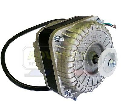 NEW Shade Pole Square Fan Motor CCW 6W 115V 1550 RPM For Evaporator & Condenser