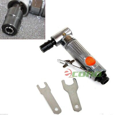 """1/4"""" Air Angle Die Grinder Cutter Polisher Air Tools W/ 2 Wrench Cast Aluminum"""