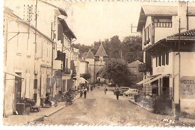 Cpa: Carte Type Photo/ Barbotan Les Thermes/ La Grande Rue/ Dpt 22