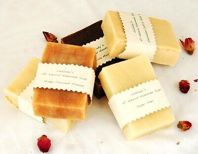 Unikbaby's All Natural Handmade Soap Choose any Five 4 oz Bars (save on S&H)