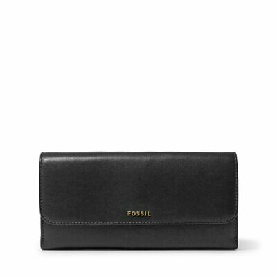 Genuine FOSSIL Clutch Ladies Wallet Leather Purse  Brown Brand New