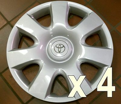 """Set of 4 Toyota Camry Hubcap Wheel Cover 2002 - 2004 15"""" Camery NEW AM"""