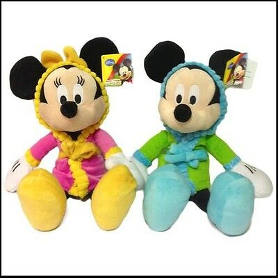 """Bedtime Buddies Mickey Or Minnie Mouse 16"""" - Choose Your Design - Brand New Tags"""