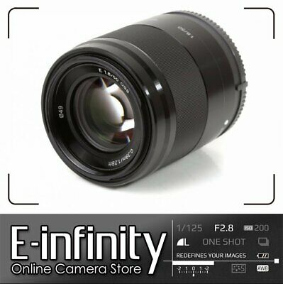 NEW Sony E 50mm F1.8 OSS E-mount Lens SEL50F18 (Black)