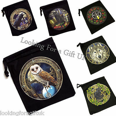 Tarot / Rune Stones / Crystals BAG / GIFT BAG / POUCH by LISA PARKER