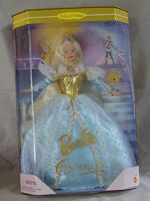 Collectible 1996 Barbie - As Cinderella #16900 Doll Mint Box Good Nrfb