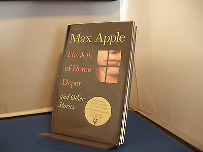 The Jew of Home Depot by Max Apple First Edition 2007 Promotional Copy