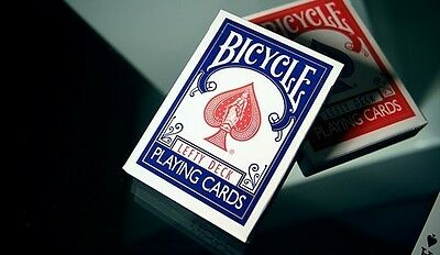 Lot of 2 Red & Blue Bicycle Lefty Decks Playing Cards by - Kevin Reylek