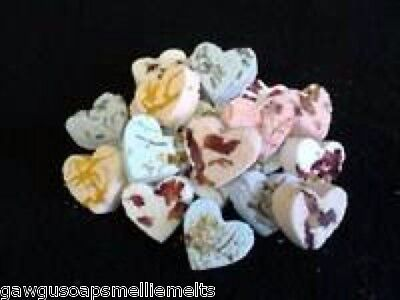 50 Handmade Fizzy Bath Bomb Hearts/wedding Favors/baby Showers/gifts