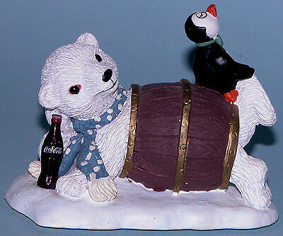 "Coca Cola Heritage Collection Cavanaugh ""My Turn to Hide"" polar bear penguin"
