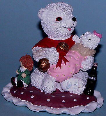 "Coca Cola Heritage Collection  ""Little Girls are Special"" Polar bear baby"