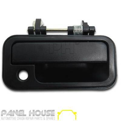 Door Handle Black Front Outer RH Drivers Side for Holden Rodeo TF Ute '88-'02