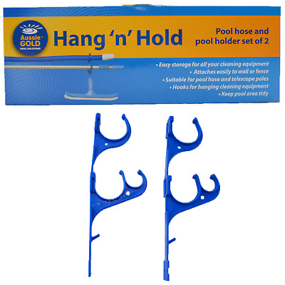 Aussie Gold Hang N Hold - Pool Spa Pole & Equipment Storage Rack