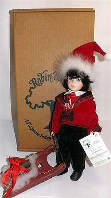 ROBIN WOODS WILLIAM NOEL COLLECTIBLE DOLL WITH ORIGINAL TAGS