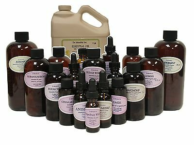 Patchouli Essential Oil 100% Pure Organic Uncut Sizes from 0.6 oz to 1 Gallon