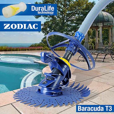 Zodiac T3 Baracuda Pool Cleaner  - Above & In Ground - Wall Climber