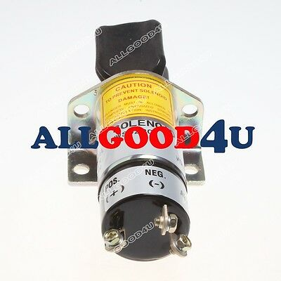 Stop Solenoid 12 Volts For Perkins 4.108 4.165 6.354 Engine Boat