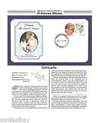 GRENADA Princess Diana Stamp Official First Day Cover Issue MINT Collector Item